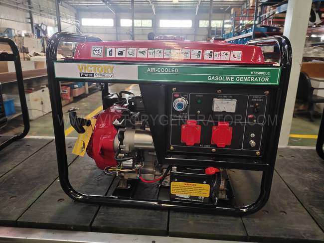 2.3KVA Gasoline Generator Exported to the Project in Bangladesh