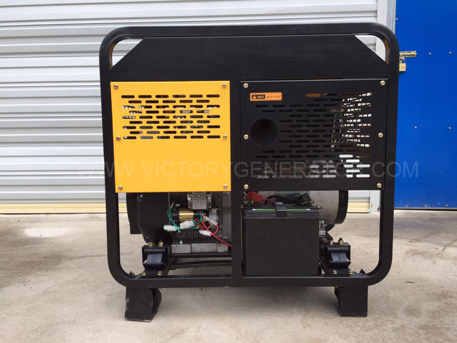 10KVA Diesel Portable Generator Exported to Thailand