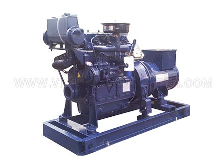 19KVA~125KVA Weichai Marine Diesel Generator Set