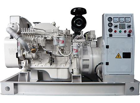 38KVA~1031KVA Cummins Marine Diesel Generator Set