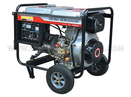 1.7KW~6.5KW Diesel Portable Generator