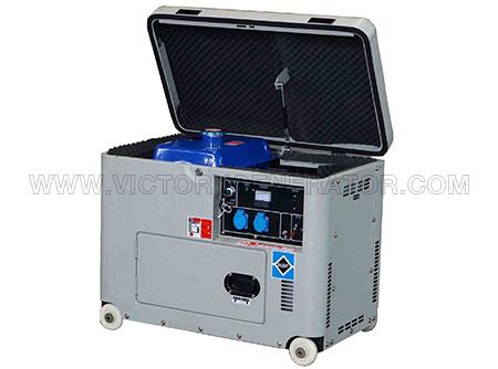 2.7KW~6.6KW Silent Diesel Portable Generator