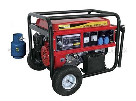 2KW~10.5KW Gas(LPG) Portable Generator