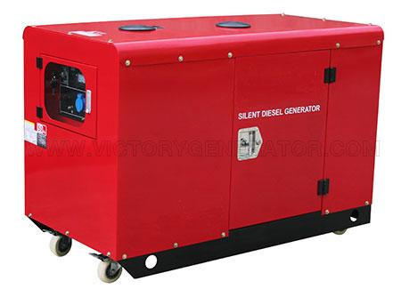 10KW~11KW Silent Diesel Twin-cylinder Generator
