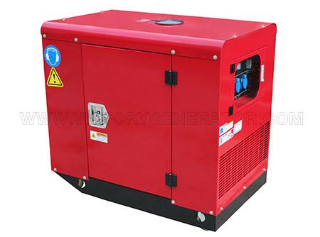 8.5KW~10.5KW Silent Gasoline Twin-cylinder Generator