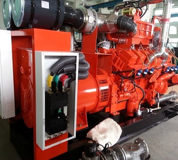 Gas Genset Project