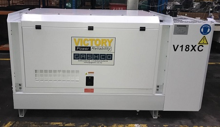 20KVA FAW Generator Exported to Western Australia